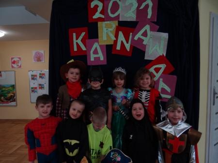 Bal karnawałowy w grupie 5-6 latków