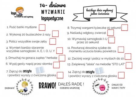 Wyzwanie logopedyczne